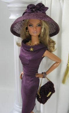 Deep Purple for Fashion Royalty Doll