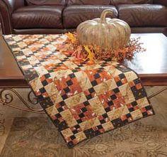 Autumn table runner inspiration