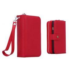 Modische Leder Handy Schutz Handyhülle mit Seil für iPhone 5/5S/6/6 Plus und Samsung Galaxy S4/S5/S6/S6edge