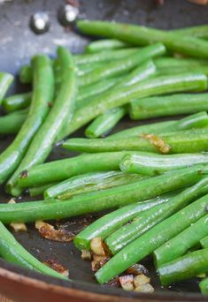 Savory Garlic Green Beans  #recipe | The Wannabe Chef
