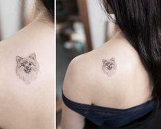 Of The Best Dog Tattoo Ideas Ever 294 Of The Best Dog Tattoo Ideas Ever Source by The post 294 Of The Best Dog Tattoo Ideas Ever appeared first on Calvert Kennels. Hongdam Tattoo, M Tattoos, Tattoo Fonts, Animal Tattoos, Cute Tattoos, Body Art Tattoos, Tattoo Neck, Mandala Tattoo, Small Dog Tattoos