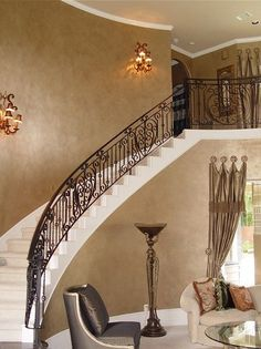 Image result for faux wall finish with stained trim