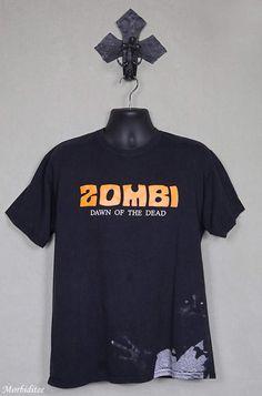 Zombi, horror movie T-shirt, zombie cult film, Italian Italo horror, Dario Argento, George Romero, Lucio Fulci, Goblin, Night of the Living