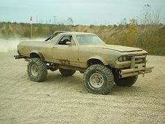 68 Elcamino 4x4 now I need to finish mine....