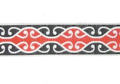 This wide Maori Koru Braid is ideal for making into headbands or using as the trim kapa haka costumes, cloaks, etc. Harmony Day, Maori Designs, Kiwiana, Girls Camp, Headbands, Awards, Nursery, Costume, Fabric