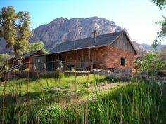 Sandstone Cabin, Spring Mountain Ranch State Park, NV