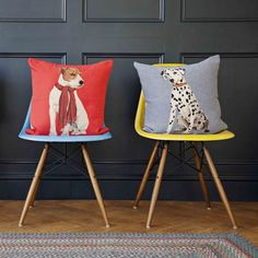 Iosis Aresen the Dalmation Tapestry Cushion - Iosis from Niche Living UK