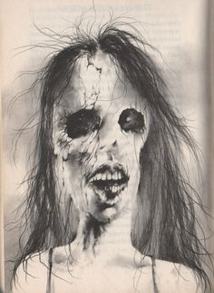 Anybody remember this artwork from the book series Scary Stories to Tell in the Dark? (40 Photos)
