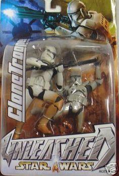 Star Wars Unleashed Clone Trooper Deep Detail New 2000 | eBay