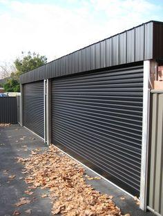 Fenceline Roller Doors | RJ Doors & free standing garage door Fenceline Roller Doors | RJ Doors | tech ... pezcame.com