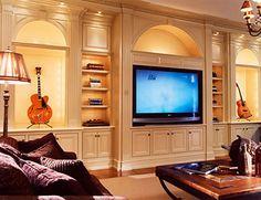 @Brandt 'Bubba' Page, here's your dream...guitars, tv, yes.