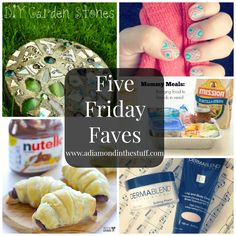 Five Friday Faves @ A Diamond in the Stuff