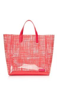 Marc by Marc Jacobs Diva Pink Checkmate Tote