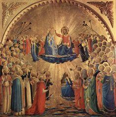 Incoronazione della Vergine (Angelico Uffizi) - Wikipedia