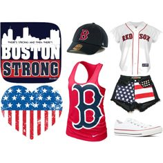 """""""Boston Strong"""" by lids4hats on Polyvore"""