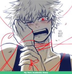 We will never be together (soulmate au) todobaku - Chapter one My Hero Academia Memes, Buko No Hero Academia, Hero Academia Characters, My Hero Academia Manga, Anime Characters, Sad Anime, Anime Art, L Death, Villain Deku