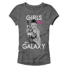 Girls' Star Wars T-Shirt -Charcoal Heather