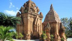 Explore the Po Nagar Cham Towers of Nha Trang, Vietnam Hanoi, Mind Maps, Destin Beach, Fantasy Inspiration, Small Island, Beach Resorts, Asia Travel, Southeast Asia, Barcelona Cathedral
