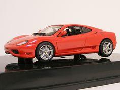 Ferrari 360 Modena 1:43 Hot Wheels Red - Speelgoedenverzamelshop.nl