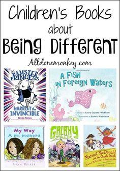 Children's Books about Being Different | Alldonemonkey.com (scheduled via www.tailwindapp.com)