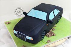 Tort Audi A4 na 18 urodziny. Więcej na stronie bloga: www.pieceacake.pl
