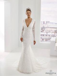 Perle, collection de robes de mariée - Pronuptia
