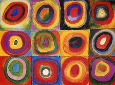 [동심원이 있는 정사각형 - 칸딘스키] wassily kandinsky <Squares with Concentric Circles, 1913>