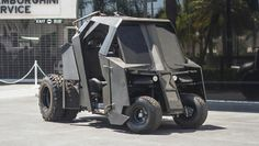 The Batmobile Golf Cart, a.k.a. my dream vehicle