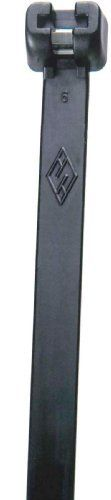 """Morris Products 20738 Ultraviolet Black Nylon Cable Tie Stainless Steel Tooth 60LB 8"""" by Morris Products. $15.56"""