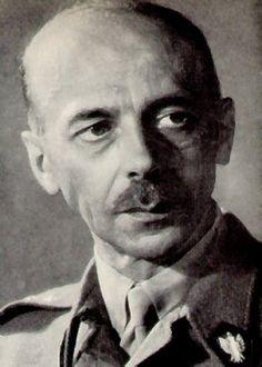 Commander Tadeusz Bór-Komorowski of the Polish Home Army.