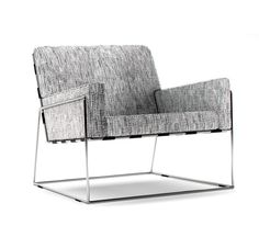 Designed by Marcel Wanders for Moooi in the Charles Chair has a stainless… Living Furniture, Living Room Chairs, Luxury Furniture, Furniture Design, Furniture Makers, Kitchen Furniture, Luge, Bauhaus, Minimalist Sofa