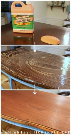 Love this stuff!!! Giverny Chalk Paint Chest Makeover with White Wax - artsychicksrule.com