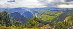 Trzy Korony (Three Acmes) the highest peak of Middle Pieniny (Karpaty)