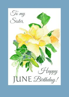 Valentine Day Cards, Valentines Diy, Easy Diy Valentine's Day Cards, Happy June, Birthday Cards For Friends, Card Birthday, To My Mother, Yellow Roses, Happy Mothers Day