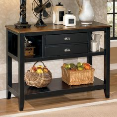 Signature Design By Ashley Owingsville Dining Room Server   Mooreu0027s Home  Furnishings   Serving Table Kerrville