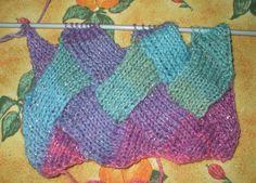comment tricoter l'entrelac