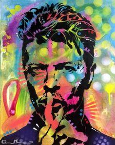 "Saatchi Art Artist Dean Russo; Painting, ""Bowie"" #art"