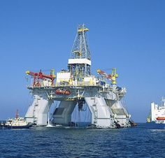semi-submersible rig - Google Search