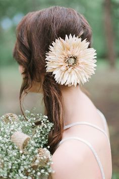 cute flower hair accessory