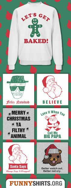 Top Ten Funniest Christmas Sweaters