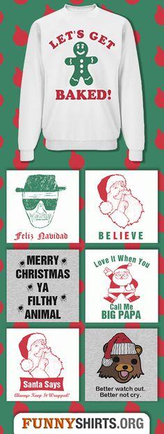 Top Ten Funniest Christmas Sweaters