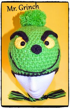 Connie's Spot© Crocheting, Crafting, Creating!: Free Crochet Snowman, Mr. Grinch & Blue's Clue Hat Patterns