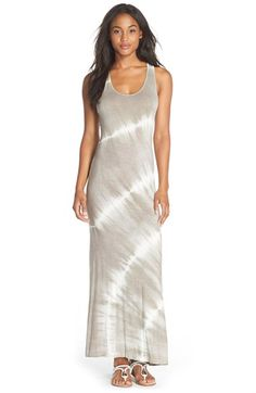 Fraiche+by+J+Tie+Dye+Racerback+Maxi+Dress+available+at+#Nordstrom