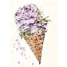 35 лучших изображений доски цветы в рожке Beautiful