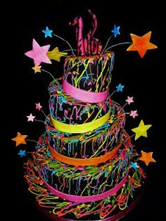 This would have been perfect for my 24th birthday--the glow party :)