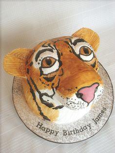 Tiger Cake by springlakecake,