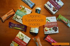 The Source for Organic Superfoods Snacks: Essential Living Foods   Mindful Momma