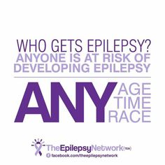 Wear Purple Day, Epilepsy Awareness Month, Epilepsy Seizure, Seizure Disorder, Chiari Malformation, Get Educated, Scoliosis, Seizures, Know Who You Are