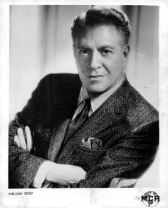 1960 Nelson Eddy Actor Handsome Portrait Press Photo