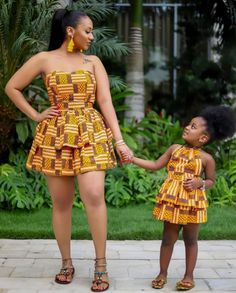 African Dresses: Fashionable African Wear Styles in 2020 - - African dresses vary from brightly colored textiles to abstractly embroidered robes, to colorful beaded bracelets and necklaces. African Dresses For Kids, Latest African Fashion Dresses, African Dresses For Women, African Print Dresses, African Print Fashion, African Attire, Ankara Fashion, African Prints, Fashion Outfits